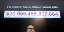 US national debt, treasury secretary